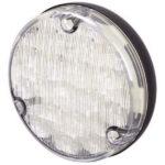Hella 1467 Led Reversing Lamp – 110mm Round Black Base