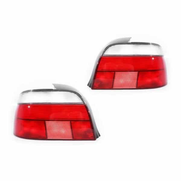 BMW E39 5 Series & M5 Standard Red & Clear LH or RH Tail Light Lamps