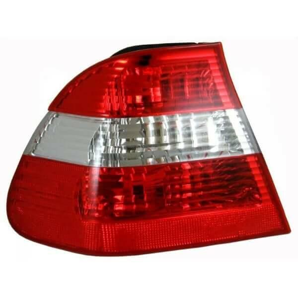 BMW E46 3 Series 4dr Sedan LHS Clear Tail Light