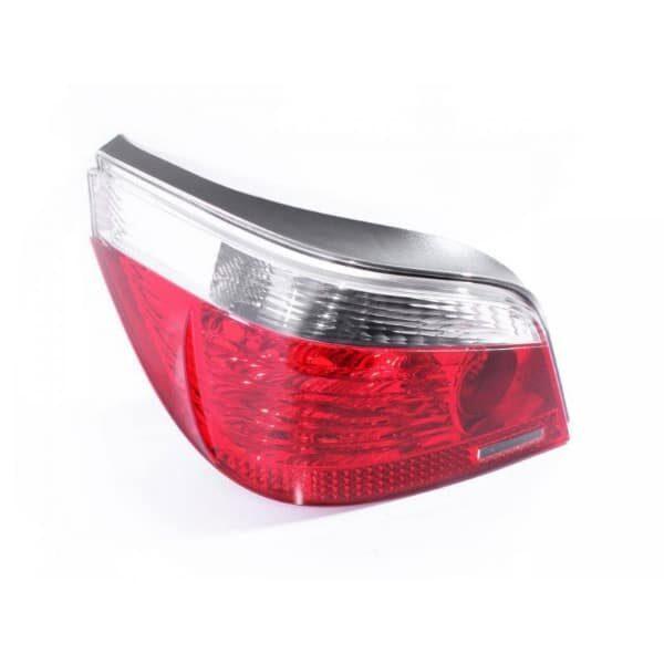 BMW E60 5 Series & M5 Sedan Red & Clear LHS Left Tail Light Lamp