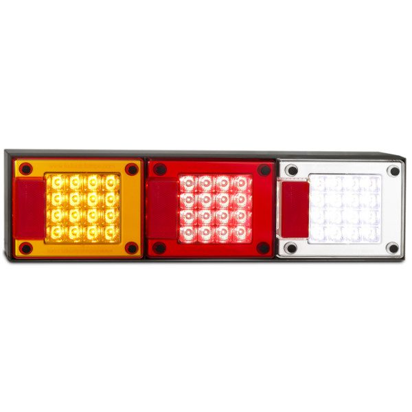 Led Autolamps 460Arwm Stop/Tail/Indicator/Reverse/Reflector Combination Lamp