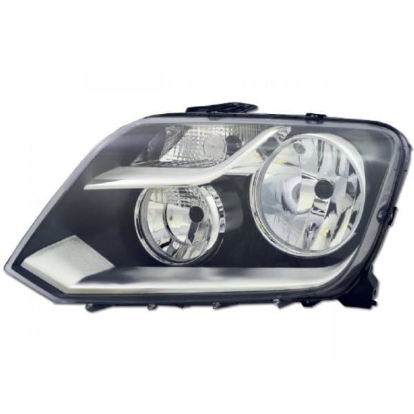 VW-Volkswagen-Amarok-Head-Light-New-LH-Left-HeadLamp-with-Motor